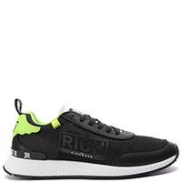 Черные кроссовки John Richmond с прозрачными вставками, фото