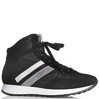 Мужские кроссовки Paciotti черного цвета, фото