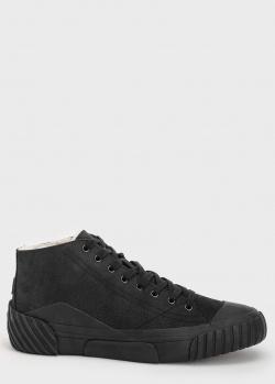 Зимние кроссовки Kenzo черного цвета, фото