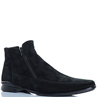 Ботинки Pakerson из замши черного цвета, фото