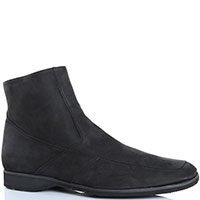 Высокие ботинки Pakerson из черного нубука, фото