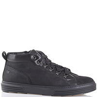 Черные ботинки Giampiero Nicola на шнуровке, фото