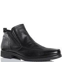 Ботинки черного цвета из кожи Gianfranco Butteri, фото