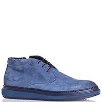 Синие ботинки  Lab Milano на толстой подошве, фото