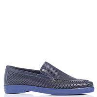 Мужские туфли Lab Milano на синей подошве, фото
