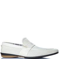 Перфорированные туфли FABI из белой кожи, фото