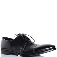 Классические туфли FABI черного цвета из полированной кожи, фото