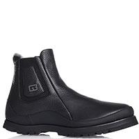 Черные ботинки Gianfranco Butteri на толстой подошве, фото
