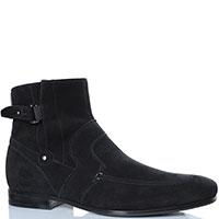 Зимние ботинки FABI из черной замши, фото
