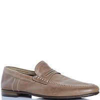 Мужские кожаные туфли FABI без шнуровки, фото