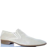 Перфорированные туфли Florian бежевого цвета, фото
