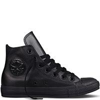 Мужские кеды Converse из кожи черного цвета, фото
