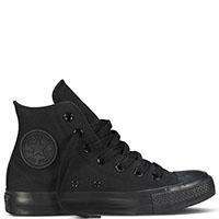 Мужские высокие кеды Converse черного цвета, фото