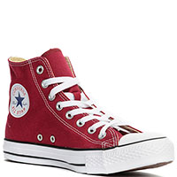 Кеды Converse All Star Hi Maroon, фото