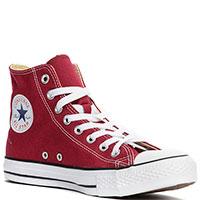 Кеды Converse All Star Hi Maroon, фото