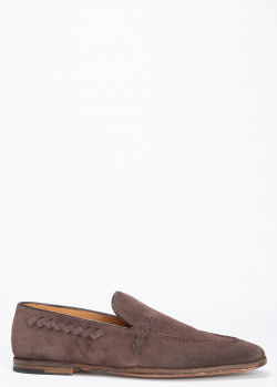 Лоферы O`Keeffe из коричневой замши, фото