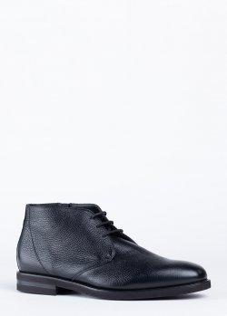 Черные ботинки Pellettieri di Parma на меху, фото
