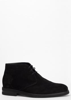 Ботинки Pellettieri di Parma из замши на шнуровке, фото