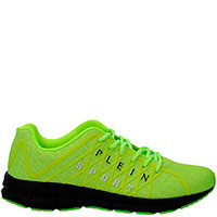 Яркие кроссовки Philipp Plein Runner Matrix на черной подошве, фото