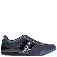 Спортивные туфли Philipp Plein Henry темно-синие, фото