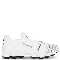 Белые кроссовки Philipp Plein Stealth-XY с логотипом, фото