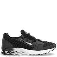 Черные кроссовки Philipp Plein Stealth-XY с тиснением, фото