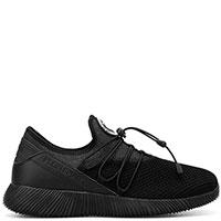Черные кроссовки Philipp Plein Ninja с эластичными шнурками, фото