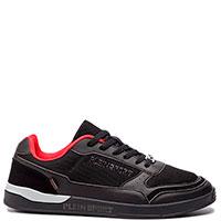 Черные кроссовки Philipp Plein с металлическим декором, фото