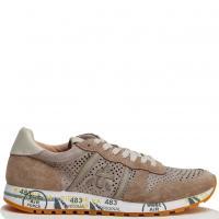 Коричневые кроссовки Premiata с перфорацией, фото