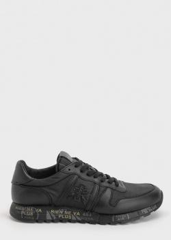 Мужские кроссовки Premiata с брендовой нашивкой, фото