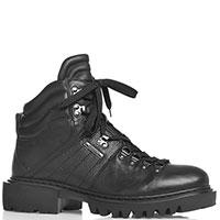 Черные ботинки Paciotti на высокой подошве, фото