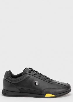 Черные кроссовки Polo Ralph Lauren с логотипом, фото