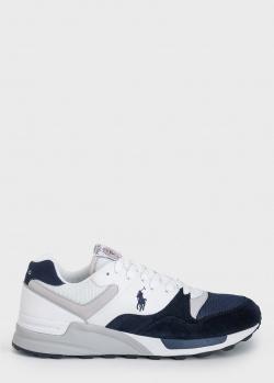 Мужские кроссовки Polo Ralph Lauren с логотипом, фото