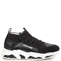 Мужские кроссовки Roberto Cavalli Maglia на рельефной подошве, фото