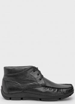 Черные ботинки Roberto Serpentini на меху, фото