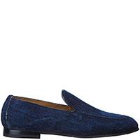 Джинсовые туфли Doucal's синего цвета, фото