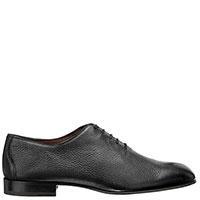 Черные туфли Fratelli Rossetti на шнуровке, фото
