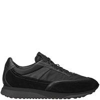 Мужские кроссовки Santoni черного цвета, фото