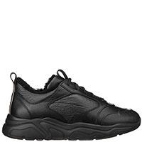 кроссовки утепленные Stokton черного цвета, фото