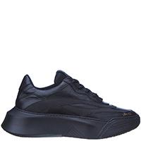 Черные кроссовки Stokton на толстой подошве, фото