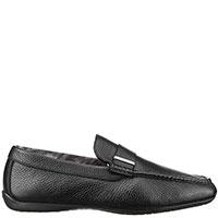 Утепленные туфли Moreschi черного цвета, фото