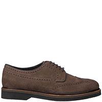 Туфли-броги Fratelli Rossetti коричневого цвета, фото