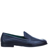 Туфли-лоферы Fratelli Rossetti темно-синего цвета, фото