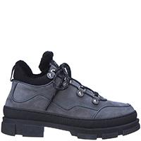 Замшевые ботинки Stokton утепленные натуральным мехом, фото