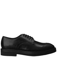 Черные туфли Brecos из гладкой кожи, фото