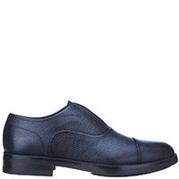 Синие ботинки Brecos из зернистой кожи без шнуровки, фото