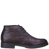 Мужские туфли Brecos из коричневой кожи, фото