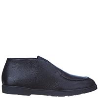 Мужские ботинки Brecos из черной кожи, фото