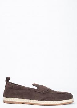 Эспадрильи Santoni коричневого цвета, фото