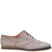 Бежевые туфли Andrea Ventura на шнуровке, фото